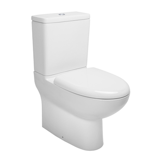 A typical back to wall toilet system