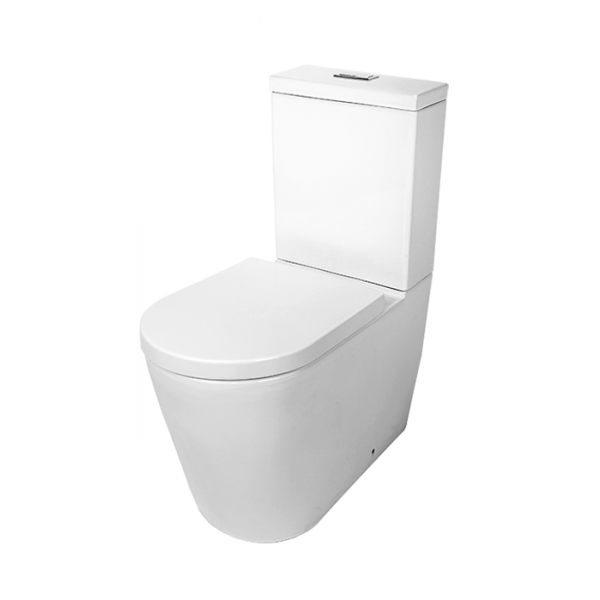 Ambulant Series Wall Faced Toilet Suite (Back Inlet)