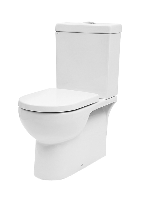 Basso Wall Faced Toilet Suite (Back Inlet)