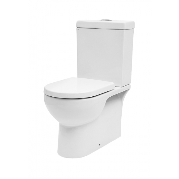 Basso Wall Faced Toilet Suite (Bottom Inlet)