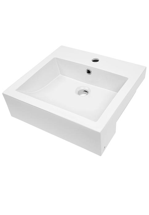Rettangolo 480 Semi-recessed Basin